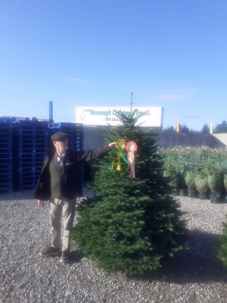 irish christmas tree growers champion 2021